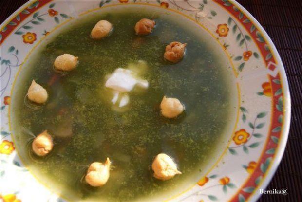 Zupa szpinakowa