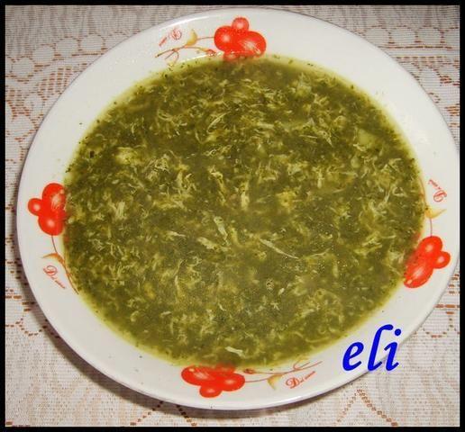 Zupa szpinakowa Eli