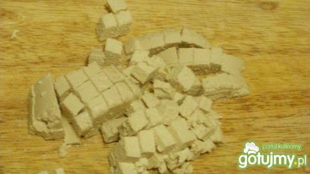 Zupa szpinakowa z tofu