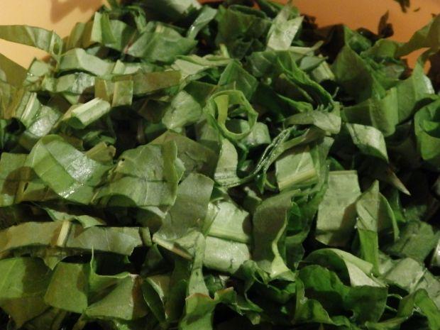 Zupa szpinakowo-szczawiowa