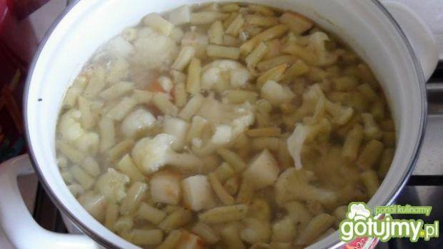 Zupa warzywna .