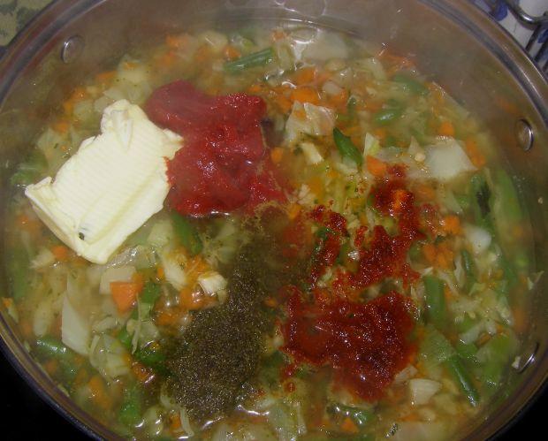 Zupa warzywna na maśle