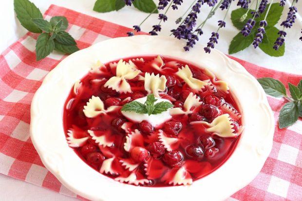 Zupa wiśniowa na lato