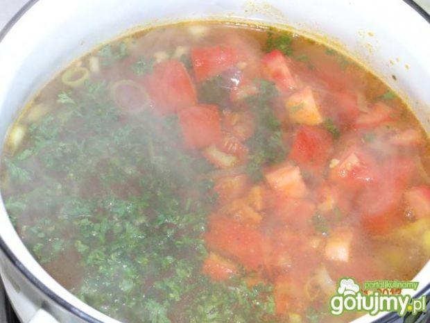 Zupa włoska z kurczakiem