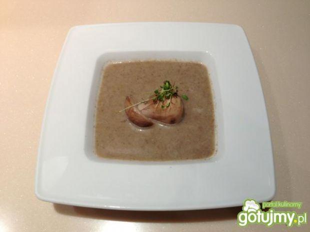 Zupa z borowikiem.