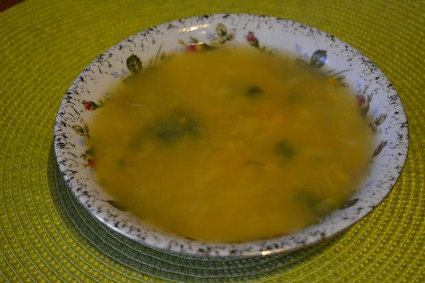 Zupa z cukinią i ziemniakami