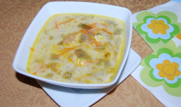 Zupa z cykorii z omletem