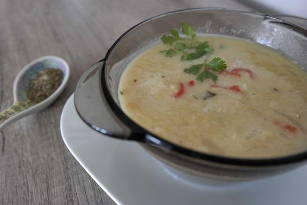 Zupa z czerwonej soczewicy i chili