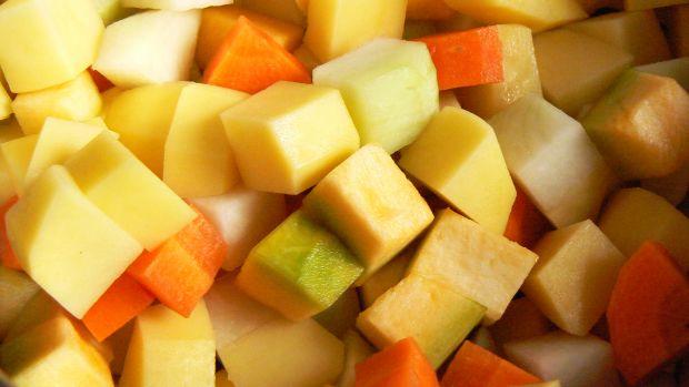 Zupa z czterech warzyw