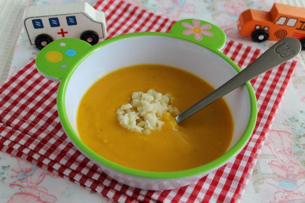 Zupa z dyni na mleku z zacierkami