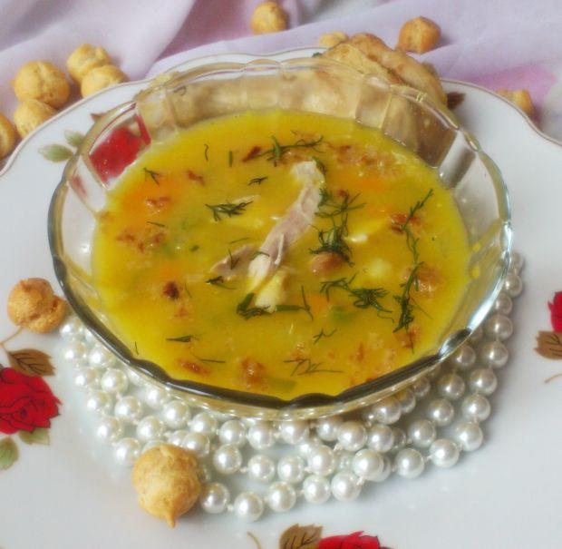 Zupa z dyni (z kurczakiem)