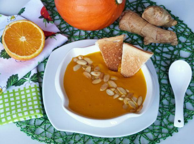 Zupa z dyni z nutką imbiru