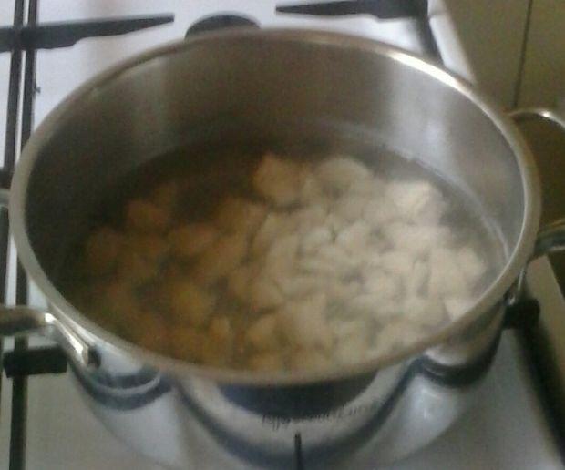 Zupa z fasolką szparagową.
