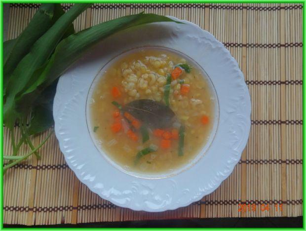 Zupa z groszku łuskanego