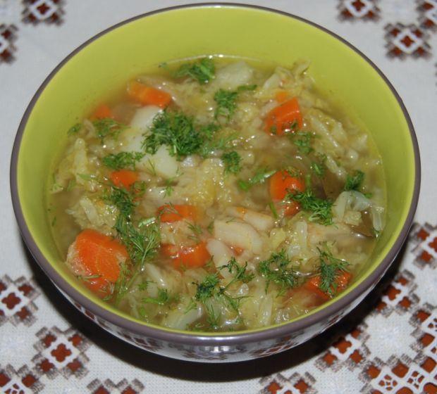 Zupa Z Kapusty Wloskiej