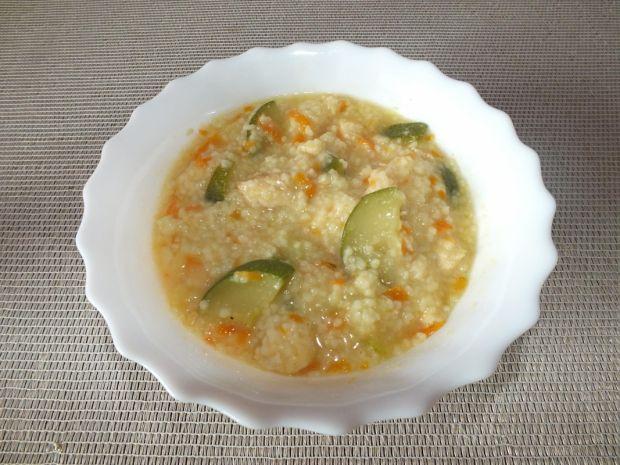 Zupa z kaszą kuskus