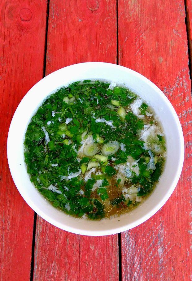 Zupa z kolendrą i wołowiną