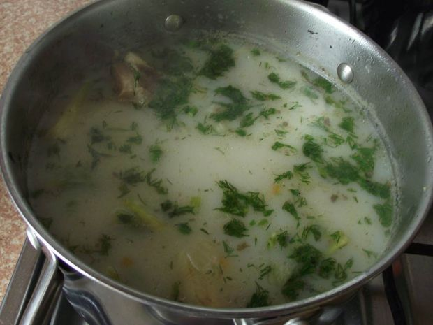 Zupa z koprem włoskim