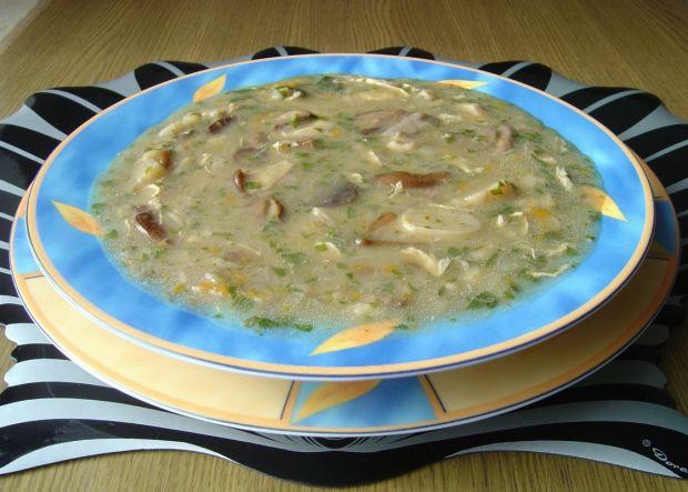 Zupa  z  Leśnymi  Grzybami