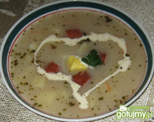 Zupa z majerankiem