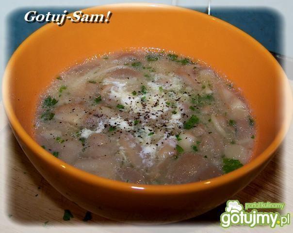 Zupa z maślaków