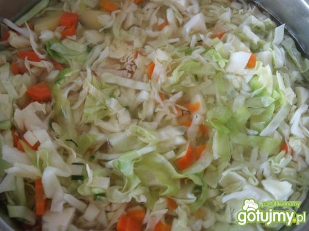 Zupa z młodej kapusty wg Alex