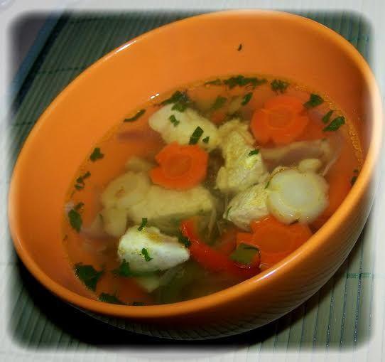 Zupa z piersi kurczaka