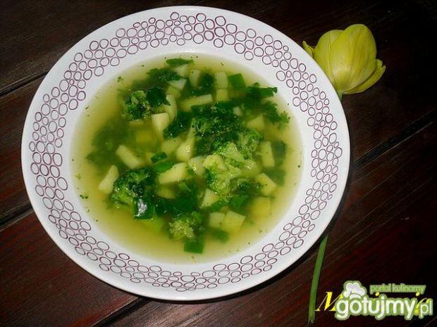 Zupa z pokrzyw i brokuła