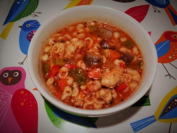 Zupa z pulpecikami z cielęciny