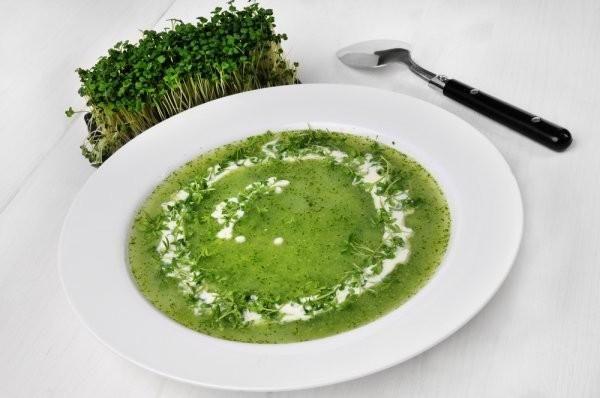 Zupa z rzeżuchy