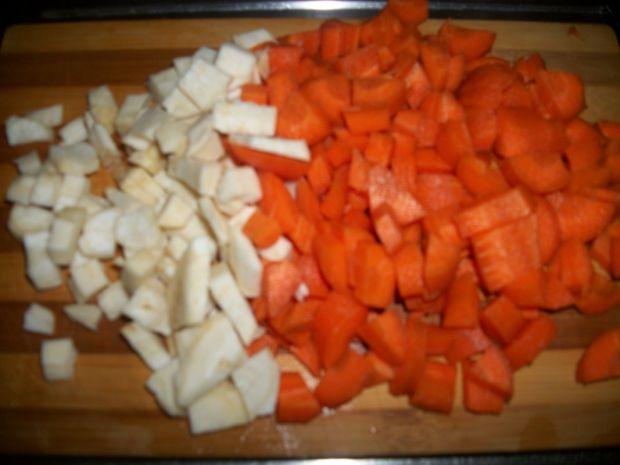 Zupa z serków topionych wg Zub3ra