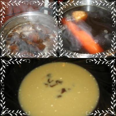 zupa z suszonych grzybów