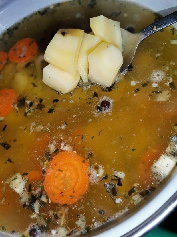Zupa z zielonego groszku inaczej