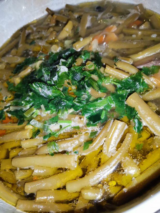 Zupa z zielonej fasolki ze słoika