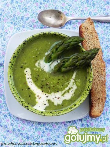 Zupa z zielonych szparagów - Zdjęcie główne