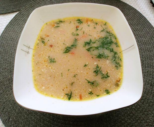Zupa z zielonym groszkiem