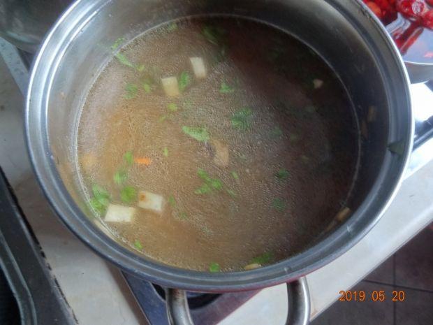 Zupa z ziemniakami i pieczarkami inaczej