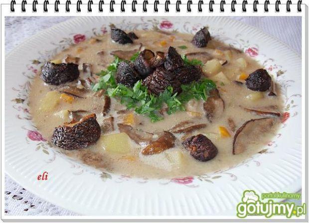 Zupa ze świeżych grzybów Eli