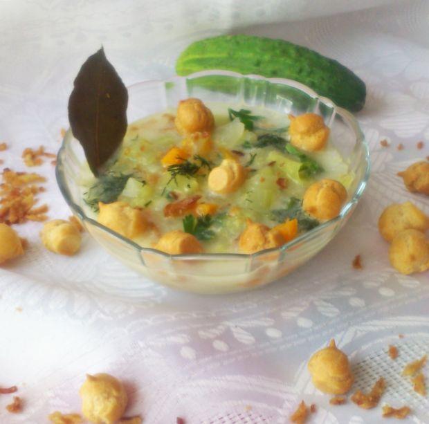 Zupa ze świeżych ogórków wg Di