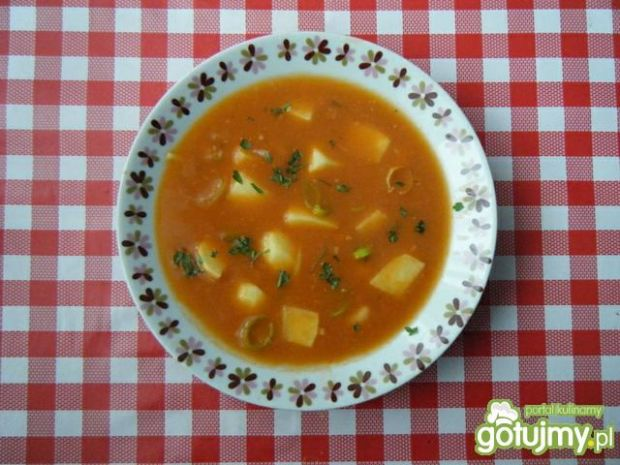 Zupa ziemniaczana z koncentratem