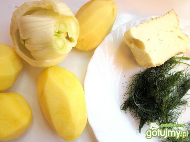 Zupa ziemniaczana z koprem włoskim