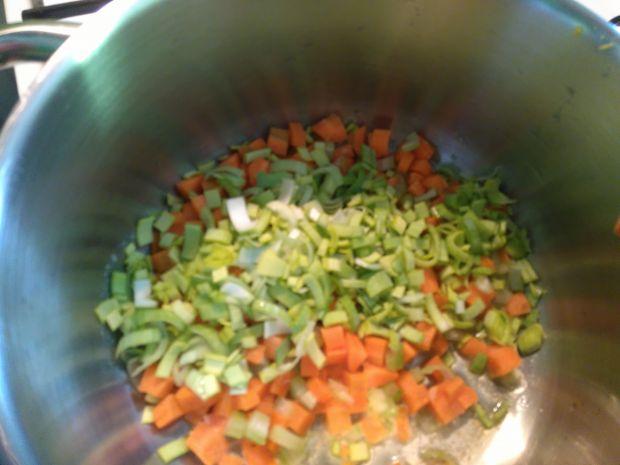 Zupa ziemniaczana z pieczoną dynią