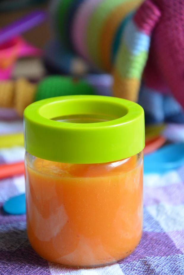 Zupka jarzynowa na indyku dla niemowląt