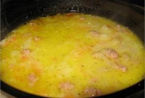 Zupka warzywna z serkami topionymi