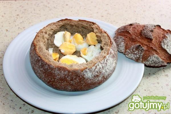 Żurek Wielkanocny w chlebie