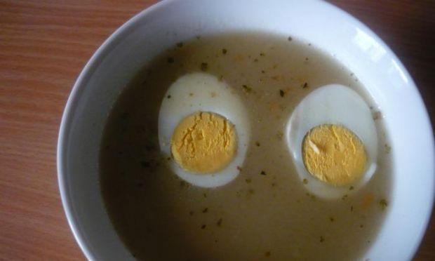 Żurek z jajkiem
