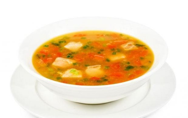 Aromatyczna zupa z owoców morza