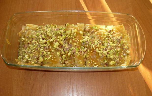 Baklava - turecki deser z cista filo