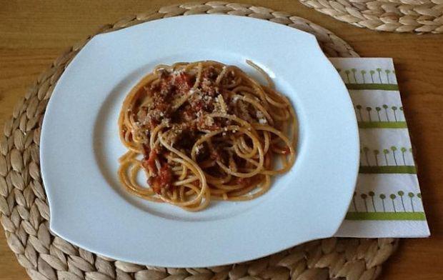Bolognese ze świeżych pomidorów
