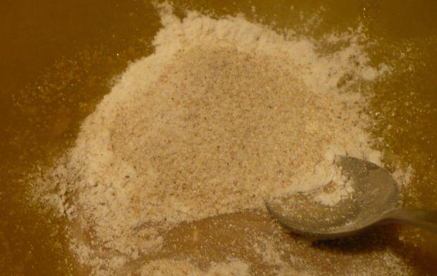 Chleb bezglutenowy ryżowo - gryczany z polentą